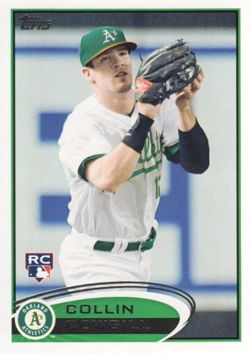 Photo of 2012 Topps #502 Collin Cowgill RC