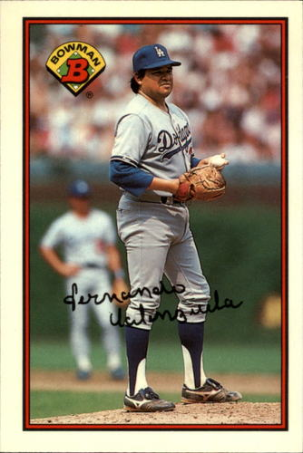 Photo of 1989 Bowman Tiffany #337 Fernando Valenzuela