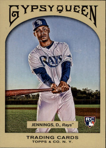 Photo of 2011 Topps Gypsy Queen #191 Desmond Jennings RC