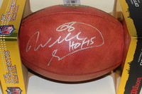 NFL - CHIEFS WILL SHIELDS SIGNED AUTHENTIC FOOTBALL