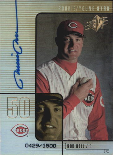 Photo of 2000 SPx #96 Rob Bell AU/1500