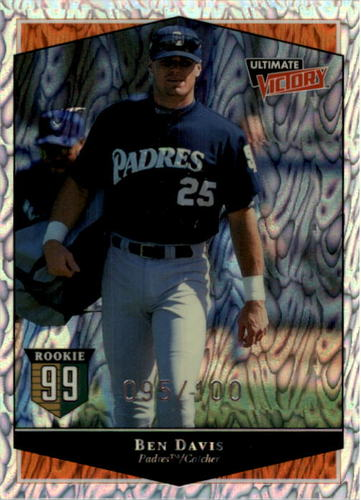 Photo of 1999 Ultimate Victory Parallel 100 #131 Ben Davis