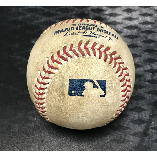 Photo of Game-Used Baseball - Paul Goldschmidt Two Run Single vs. Ross Stripling