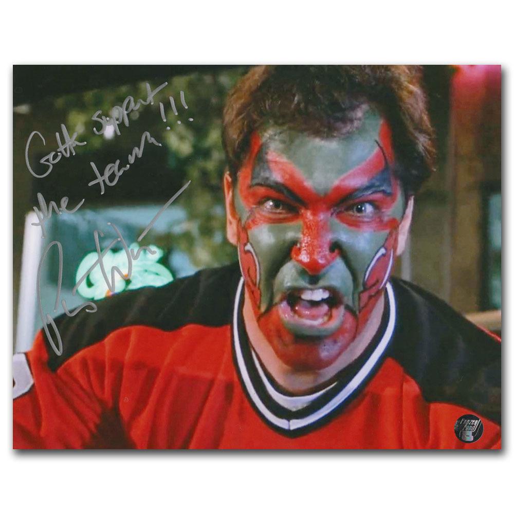 Patrick Warburton Autographed New Jersey Devils 8X10 Photo w/GOTTA SUPPORT THE TEAM Inscription (Seinfeld)