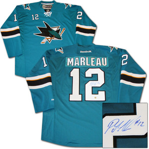 Patrick Marleau Autographed San Jose Sharks Jersey