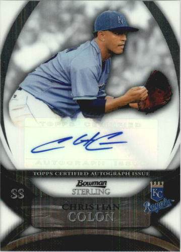 Photo of 2010 Bowman Sterling Prospect Autographs #CCO Christian Colon