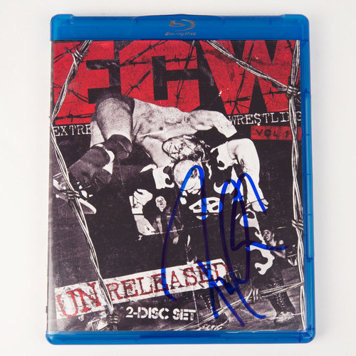 Paul Heyman SIGNED ECW: Unreleased Vol. 1 Blu-ray