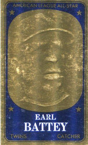 Photo of 1965 Topps Embossed #70 Earl Battey