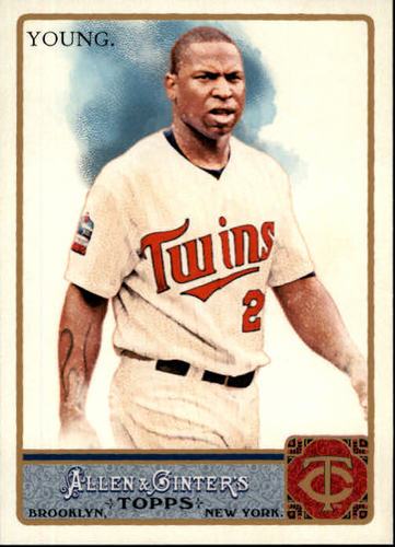 Photo of 2011 Topps Allen and Ginter #67 Delmon Young