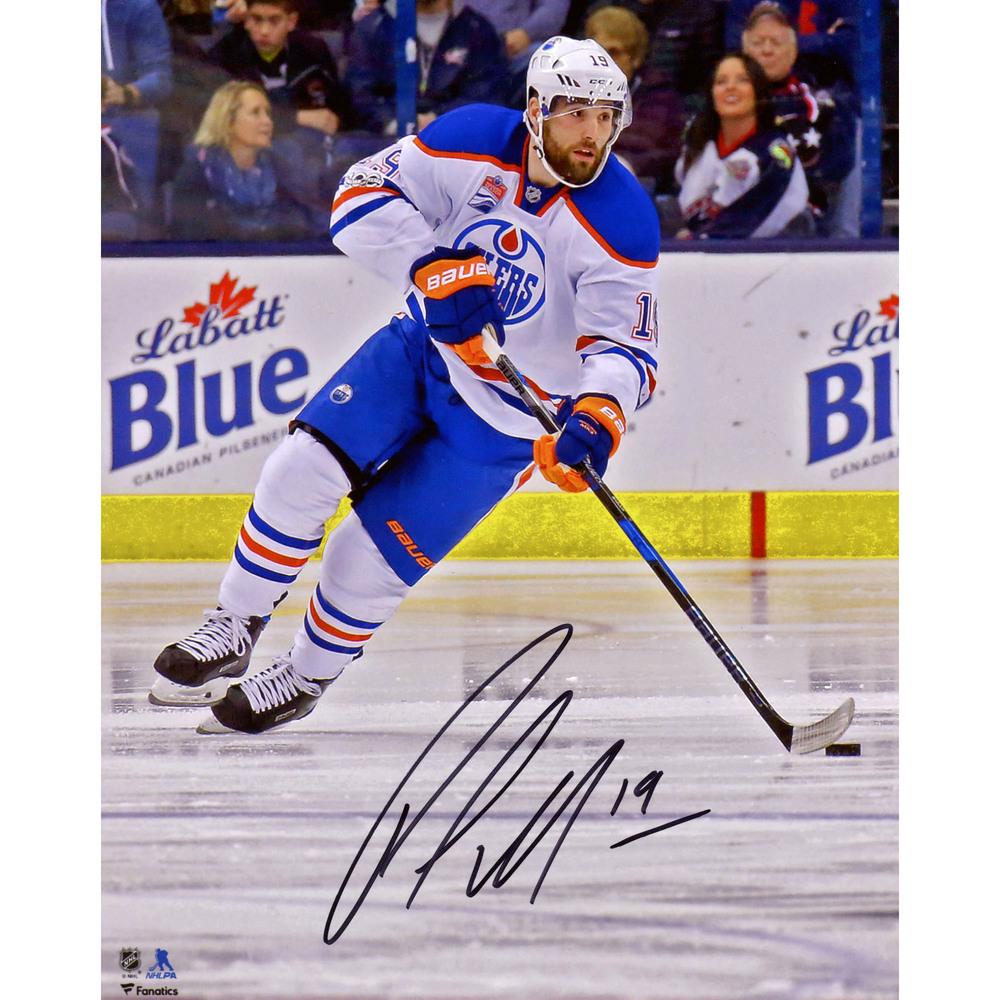 Patrick Maroon Edmonton Oilers Autographed 8