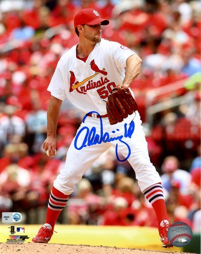 Photo of Adam Wainwright 8x10 Photo (Pitching Action   Vertical)