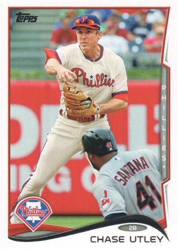 Photo of 2014 Topps #502 Chase Utley