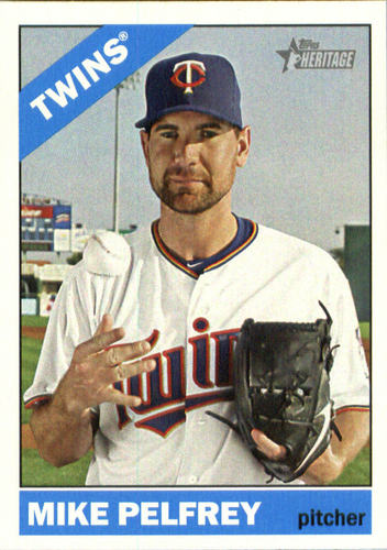 Photo of 2015 Topps Heritage #656 Mike Pelfrey
