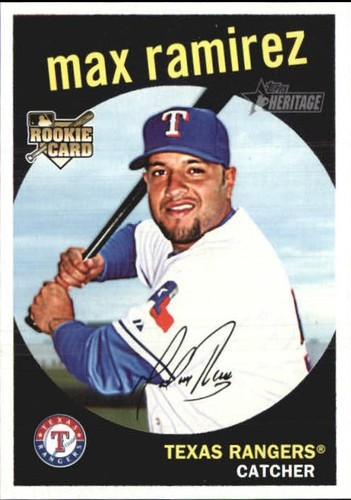 Photo of 2008 Topps Heritage #611 Max Ramirez RC