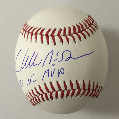 Willie McGee Autographed