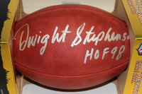 NFL - DOLPHINS DWIGHT STEPHENSON SIGNED AUTHENTIC FOOTBALL