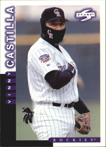 Photo of 1998 Score #97 Vinny Castilla