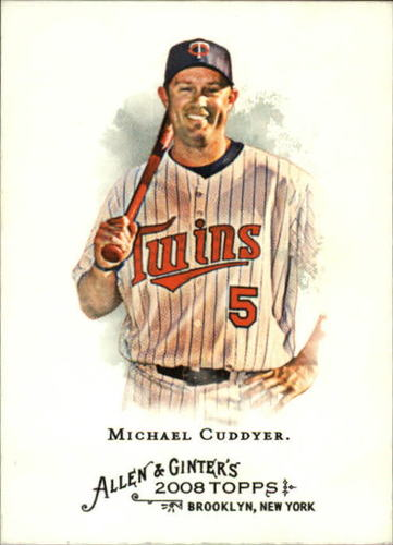 Photo of 2008 Topps Allen and Ginter #11 Michael Cuddyer