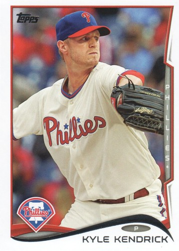 Photo of 2014 Topps #503 Kyle Kendrick