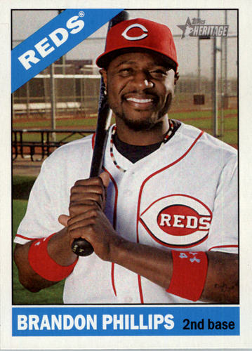 Photo of 2015 Topps Heritage #30A Brandon Phillips