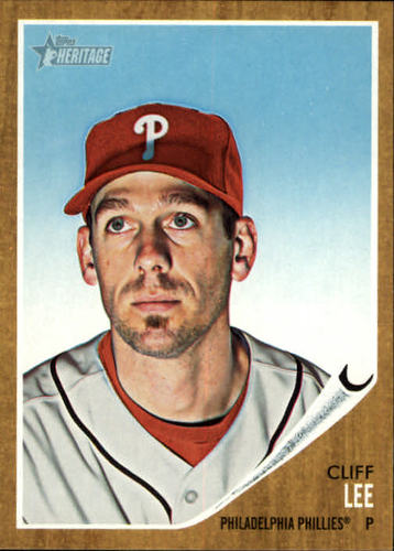 Photo of 2011 Topps Heritage #227 Cliff Lee