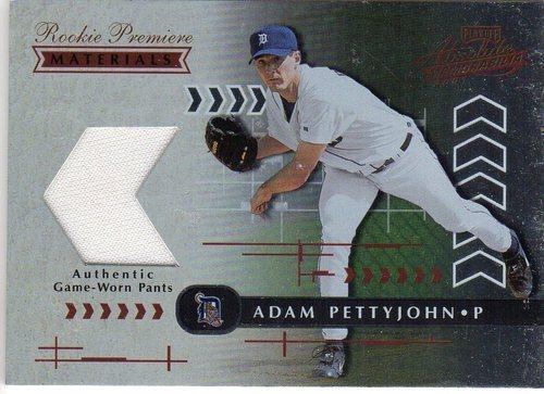 Photo of 2001 Absolute Memorabilia #188 Adam Pettyjohn RPM