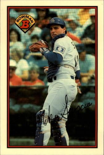 Photo of 1989 Bowman Tiffany #342 Mike Scioscia