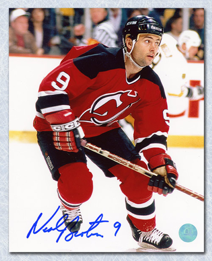 Neal Broten New Jersey Devils Autographed 8x10 Photo
