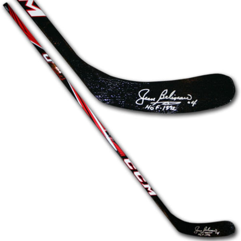 Jean Beliveau (Montreal Canadiens) Autographed CCM Hockey Stick