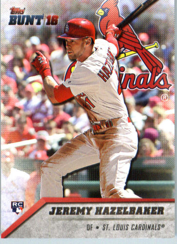 Photo of 2016 Topps Bunt #150 Jeremy Hazelbaker RC