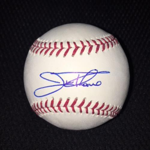 Photo of Jim Thome Autographed Baseball