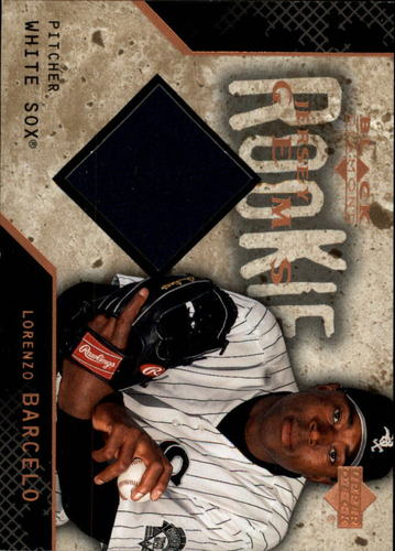 Photo of 2000 Black Diamond Rookie Edition #135 Lorenzo Barcelo JSY RC