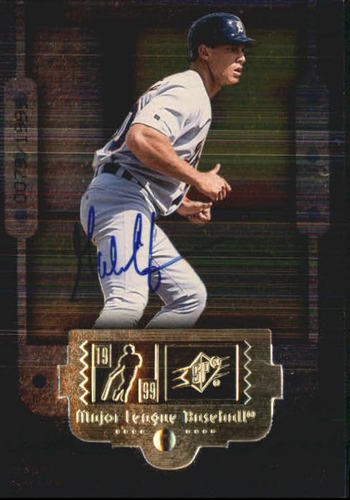 Photo of 1999 SPx #90 Gabe Kapler SP AU