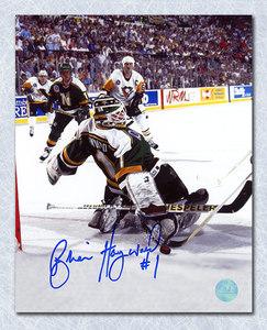 Brian Hayward Minnesota North Stars Autographed 8x10 Photo