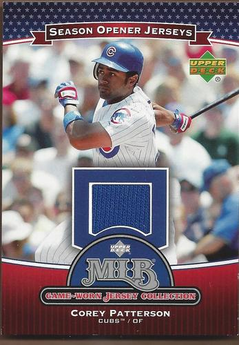 Photo of 2005 Upper Deck Season Opener MLB Game-Worn Jersey Collection #CP Corey Patterson