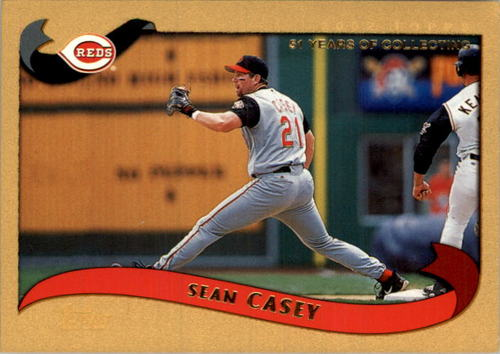 Photo of 2002 Topps Gold #79 Sean Casey