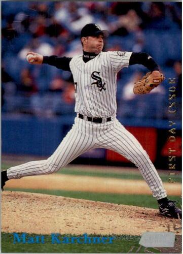 Photo of 1998 Stadium Club First Day Issue #295 Matt Karchner
