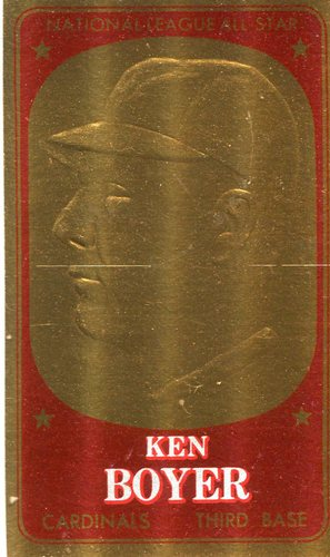 Photo of 1965 Topps Embossed #47 Ken Boyer