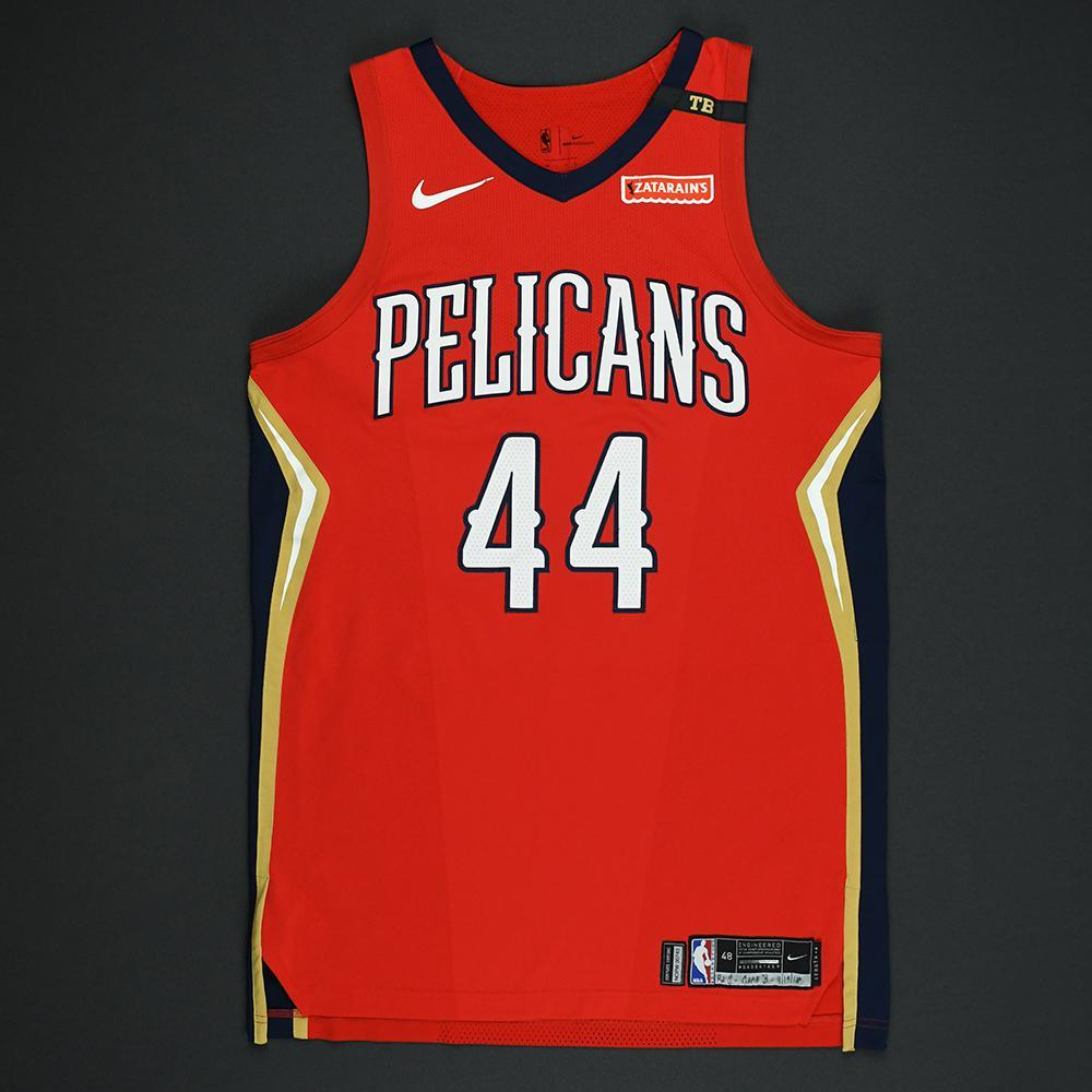 Solomon Hill - New Orleans Pelicans - 2018 NBA Playoffs Game-Worn Statement Jersey