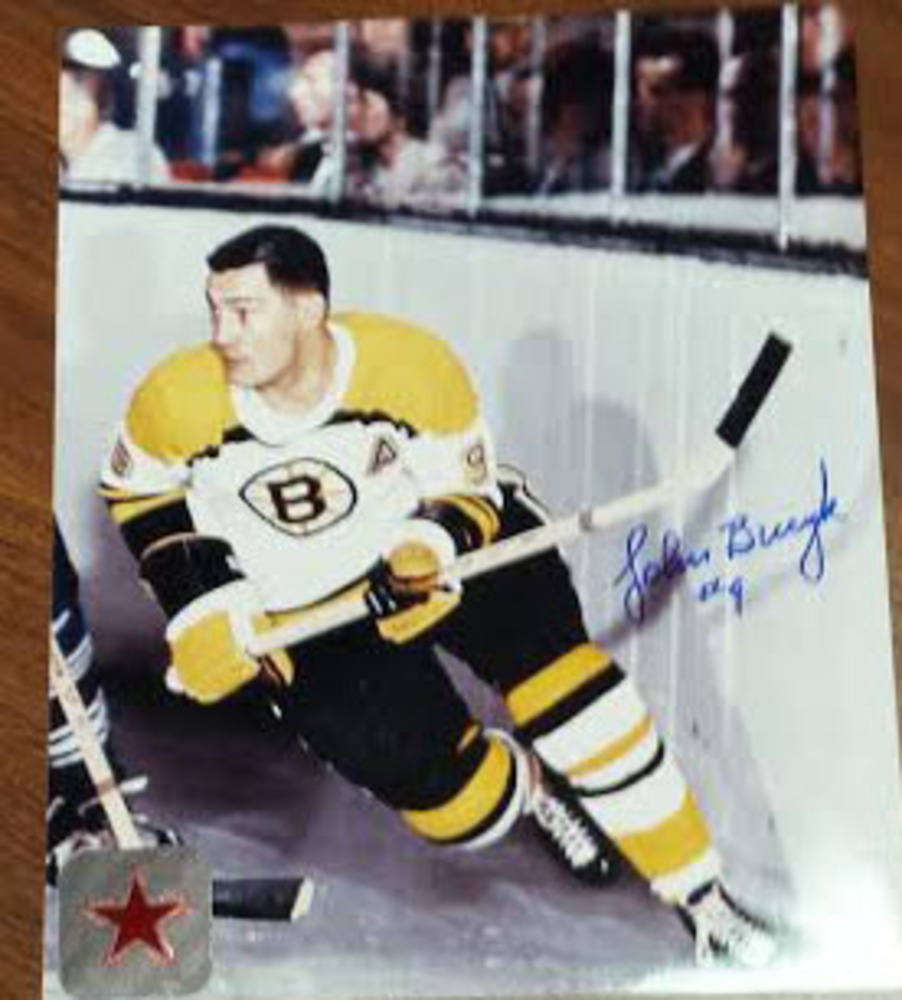 All Time Legend Jim Bucyk Signed 8x10 photo