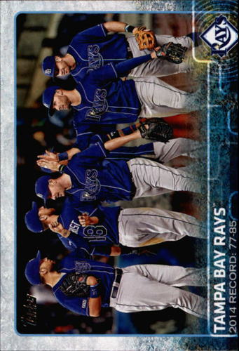 Photo of 2015 Topps #669 Tampa Bay Rays