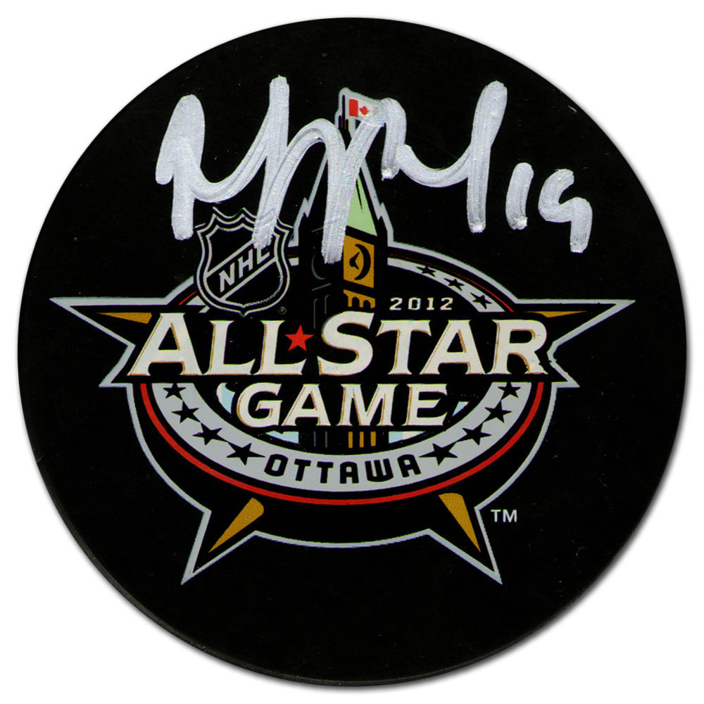 Joffrey Lupul Autographed 2012 NHL All-Star Game Souvenir Puck (Toronto Maple Leafs)