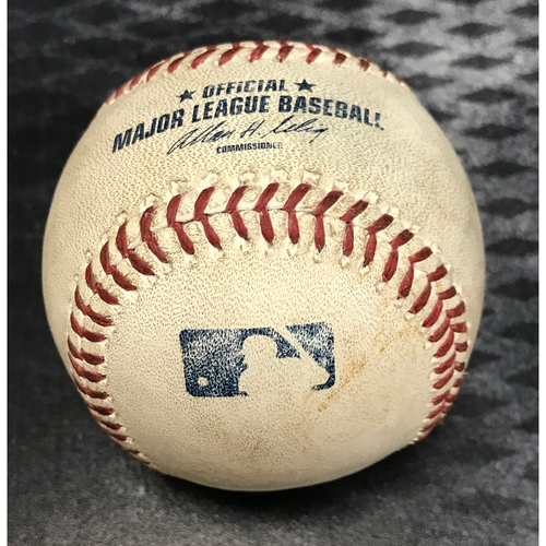 Photo of Game-Used Baseball - Andrew McCutchen Single vs. Chase Anderson
