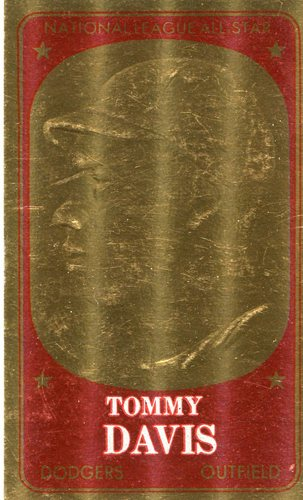 Photo of 1965 Topps Embossed #49 Tommy Davis
