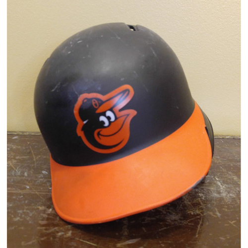 Photo of Caleb Joseph - Batting Helmet: Team-Issued