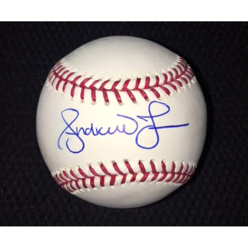 Photo of Andruw Jones Autographed Baseball
