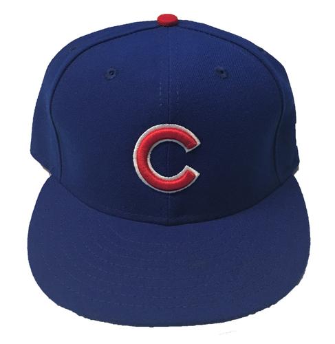 Photo of Ben Zobrist Team-Issued Hat -- Size 7 1/4 -- 2017 Season