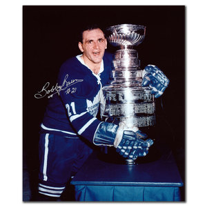 Bobby Baun Toronto Maple Leafs Stanley Cup Autographed 8x10