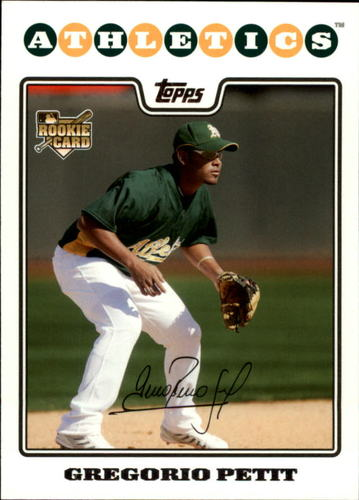 Photo of 2008 Topps Update #UH267 Gregorio Petit RC