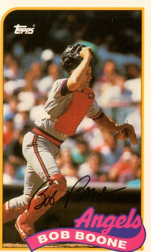 Photo of 1989 Topps Baseball Talk/LJN #135 Bob Boone